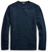 Ralph Lauren Indigo Cotton Jersey T-shirt