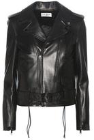 Saint Laurent Signature L17 Leather Biker Jacket