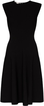 Stella McCartney Compact flared dress