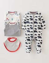 Boden New Baby 4 Piece Gift Set