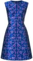 Alberta Ferretti jacquard pattern dress