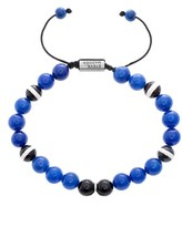 Steve Madden Men's Glass Bead Bracelet
