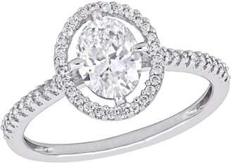 Affinity Diamond Jewelry Affinity 1.20 cttw Diamond Oval Engagement Ring, 14K