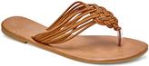 Wet Seal Cognac Knottie Sandal