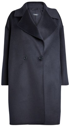 Max Mara Double-Breasted Wool-Cashmere Coat