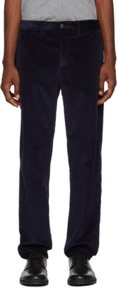 Moncler Navy Corduroy Trousers