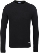 Cp Company Black Wool Blend Sweater