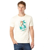 Protest Off White Mermaid Printed T-shirt
