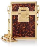 Mark Cross Women's Nicole Tortoiseshell Mini Brass Box
