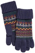 John Lewis Fairisle Gloves, Multi