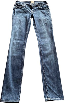 True Religion Blue Denim - Jeans Trousers for Women