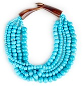 Sole Society Beaded Statement Necklace