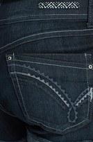 Jolt Cuff Denim Shorts (Dark) (Juniors) (Online Only)