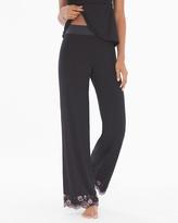 Soma Intimates Flirtation Pajama Pants TL-Black