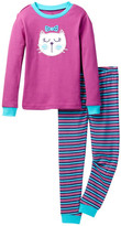 Petit Lem Long Sleeve Pajama Set (Toddler, Little Girls, & Big Girls)