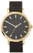 Steven Alan Women's Round Leather Strap Watch, 30Mm