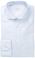 Eton Slim Fit Printed Dress Shirt