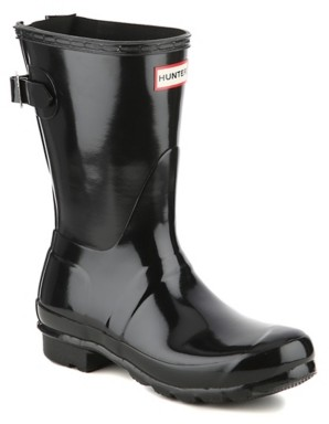 Hunter Original Short Gloss Adjustable Rain Boot