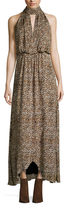 Free People Animal Instincts Printed Maxi Dress