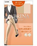 Sabrina Gunze Hot & Sheer Stockings Size M - L - 026 Black