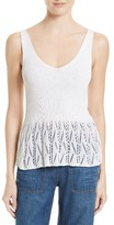 Rebecca Taylor Women's Cotton Blend Tank