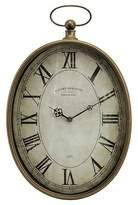 "Aurora Traditional Decorative Clock (3.75 X 20.0 X 14.25"")"