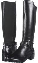 Anne Klein Elin (Black Leather) - Footwear