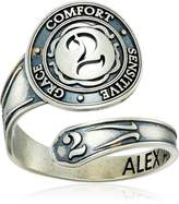 """Alex and Ani Numerology"""" Number Two, Spoon Ring, Size 7-9"""
