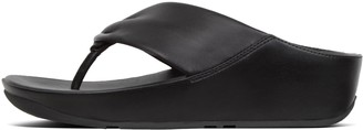 FitFlop Twiss Leather Toe-Post Sandals
