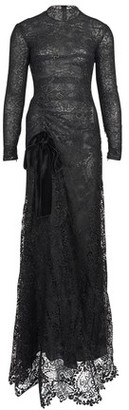 Tom Ford Floral Macrame gown dress