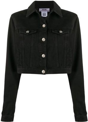 GCDS Cropped Denim Jacket