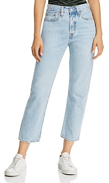 Levi's Wedgie Straight Jeans in Montgomery Baked