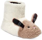 Kensie Women's Critter Bunny Boot Slippers
