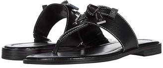 MICHAEL Michael Kors Ripley Thong (Black) Women's Shoes