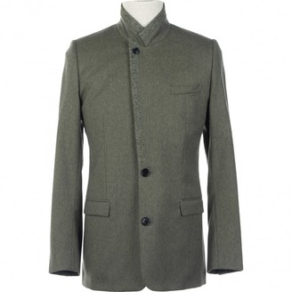 Christian Dior Green Wool Jackets