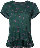 Proenza Schouler short-sleeved printed top