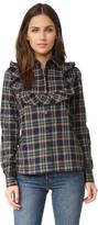 MAISON KITSUNÉ Ella Jabot Shirt