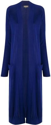 N.Peal Long-Length Cashmere Cardi-Coat