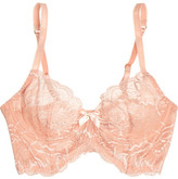 L'Agent by Agent Provocateur Leola Stretch-lace Underwired Bra - Blush