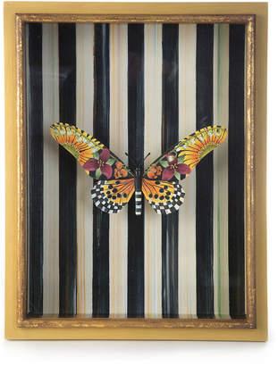 Mackenzie Childs Monarch Butterfly Shadow Box