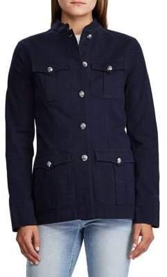 Lauren Ralph Lauren Long-Sleeve Stretch Jacket