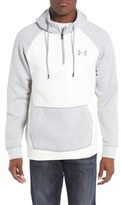 Under Armour Men's Rival Quarter Zip Hoodie