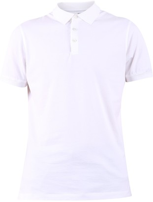 Brunello Cucinelli Ribbed Trim Polo Shirt