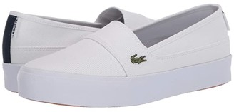 Lacoste Marice Plus Grand 120 1 (White/Navy) Women's Shoes