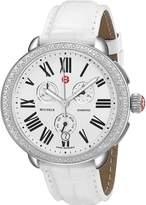 Michele Women's MWW21A000006 Serein Analog Display Swiss Quartz White Watch