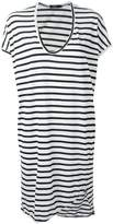 Bassike striped T-shirt dress