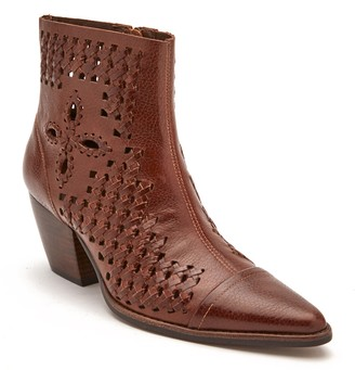 Matisse Bello Woven Pointy Toe Bootie