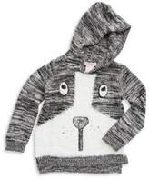 Design History Toddler's & Little Girl's Dog Hoodie Sweater