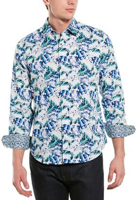 Robert Graham Cuban Sunset Classic Fit Woven Shirt