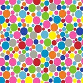 Stokke SheetWorld Fitted Oval Crib Sheet Sleepi) - Primary Colorful Mini Dots - Made In USA - 26 inches x 47 inches (66 cm x 119.4 cm)